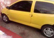 Vendo twingo 2002 color amarillo (titulo de propiedad)