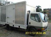 Vendo camion mitsubishi canter con turbo aÑo 2008