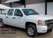Nueva pick-up silverado d/c  2011, solo contado. inf. 0414-5692081