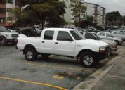 Vendo ford ranger doble cabina año 2000