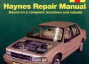 Dodge spirit / plymouth acclaim (1989-1995) manual de reparacion envio gratis