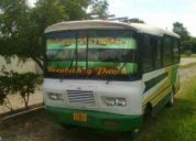 Autobus 24 puestos ford ganga