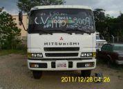 vendo chuto mitsubishi aÑo 2009 con granelero 1990