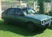 Vendo o cambio renault 11 gtl año 88 5 palante, por carro grande 4 puertas automatico