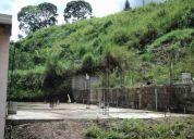 En oferta terreno con fundaciones, planos y permisos al día por 115 mil bs.