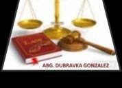 Consultorio juridico dubravka gonzalez