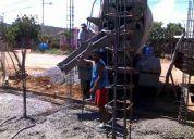 Se realizan construccion civil y venta de materiales  a consejo comunales. 0416/655.77.52.