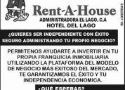 Buscas emprender algo nuevo y lucrativo ven a rent-a-house.