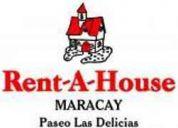 Forma parte de la gran familia de rent a house maracay