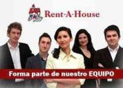 Buscamos emprendedores para franquicia personal rent a house
