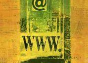 Pagina web + dominio + hosting solo por 350 (dominio nacional 0 internacional)