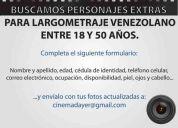casting para pelicula venezolana
