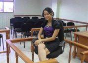 Estudiante del 3er año de derecho