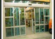 Ventanas panoramicas puertas de baÑo fachadas comerciales y residenciales todo en vidrio y aluminio