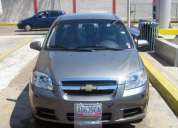 Chevrolet aveo 2012 lt 4 puertas automatico full equipo, solo pago contado. variedad color