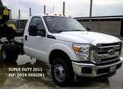 Vendo nuevo super duty 2011. 0414-5692081