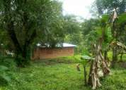 150mil bsf.vendo por viaje 3 hectareas d terreno+casa amoblada+piscina+arboles frutales