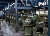 Se vende fabrica metal mecanica, actualmente fabrica valvulas de extintores