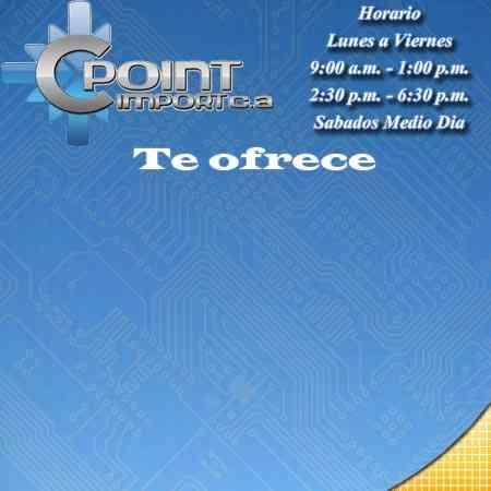 Cpoint Import tienda de computadoras