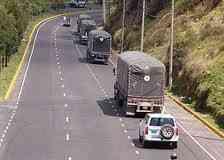Solicitamos 50 escoltas para trabajo de Inmediato. Tambien Camiones de todo tipo.