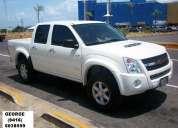 Camioneta  luv  dmax 4x4  blanca año  2013  0  km  al contado tlf: 0416-6038559