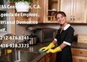 Personal/servicio domestico n&s consultores, c.a,