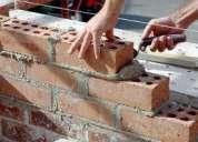 Trabajos de construccion civil y electricidad