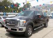 Camioneta  f-250 super  duty año 2013 color  negra doble cabina 0 km tlf: 0416-6038559