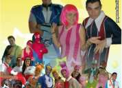 Solicito jovenes para animar fiestas infantiles , disfrazarse , pintar caras y entretener