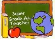 Solicitamos maestras, psicopedagogas y profesores. bachillerato. primaria