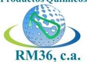 Productos quimicos rm36 solicita tsu en informatica