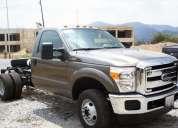 Vendo  camion  super  duty  4x4  trompa cromada  año  2013  gris  tlf: 04166038559