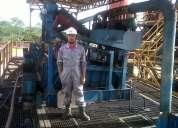 Obrero de taladro , obrero , ayudante elecctricista , operador control de solido