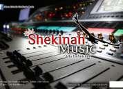 Estudio de grabacion shekinah music