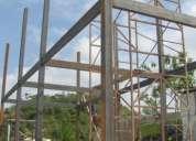 Estructuras metálicas, vivienda y comercial