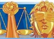Abogado, especialista en materia penal