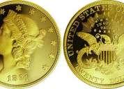 Compramos monedas de oro o plata y pagamos bien ,estamos en el ccct ,caracas