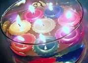 Bellas velas decorativas, aromÁticas, publicitarias, hechas a mano