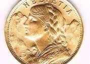Compro monedas de oro y plata y morocotas y le daremos el mejor precio internacional al momento ,ccc