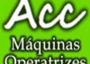 Acc maquinas operatrizes usadas