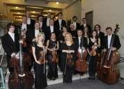 Servicios vip para bodas orquesta de cámara en maracaibo