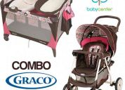 Combo graco lily (coche y corral-cuna) - baby_center