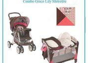 Bello combo corral coche graco modelo lilly