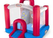 Espectacular colchon inflable marca little tike