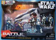 Star wars battle packs: the hunt for grievous - nuevo, en su caja