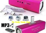 Reproductor portatil  music angel mp3 usb sd excelente calidad y sonido