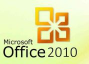 Microsoft office 2010 professional plus + mega regalo