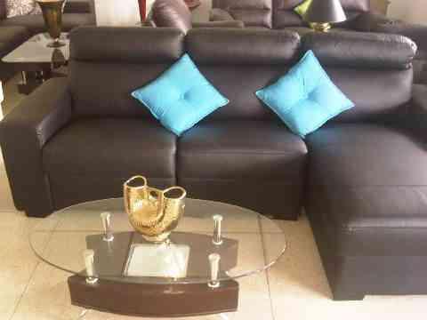 Muebles de cuero italiano sofas modulares salas recibos - Compra venta de muebles en valencia ...