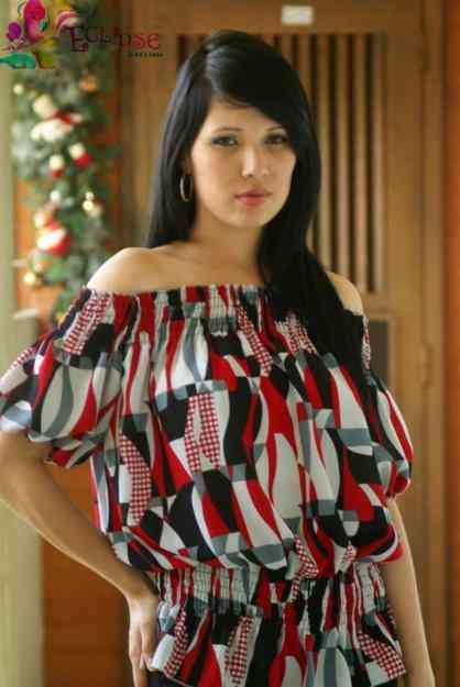 Modelos de blusas de chifon 2013 - Imagui