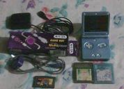 venta de nintendo wii v4.2u y game boy advance